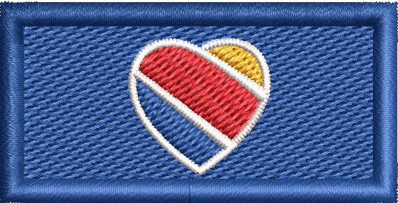 Southwest Heart Tab - Reaper Patches