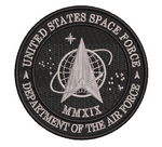 Space Force - Black and Silver Grey
