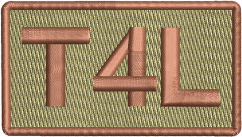 """T4L""- Left Shoulder Patch"