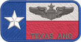 147th Attack Squadron Friday Nametags (TEXAS ANG) - Reaper Patches