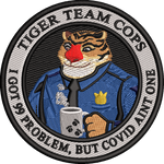 Tiger Team Cops - 99 Problems Colored
