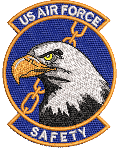 US Air Force Safety - Reaper Patches