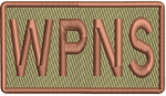 """WPNS""- Left Shoulder Patch"