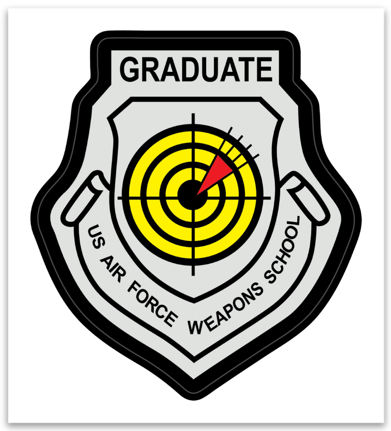 USAF Weapons School Graduate - Zap - Reaper Patches
