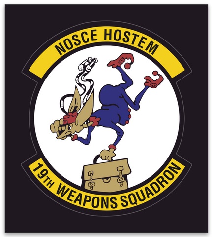 19th Weapons Squadron - Zap - Reaper Patches