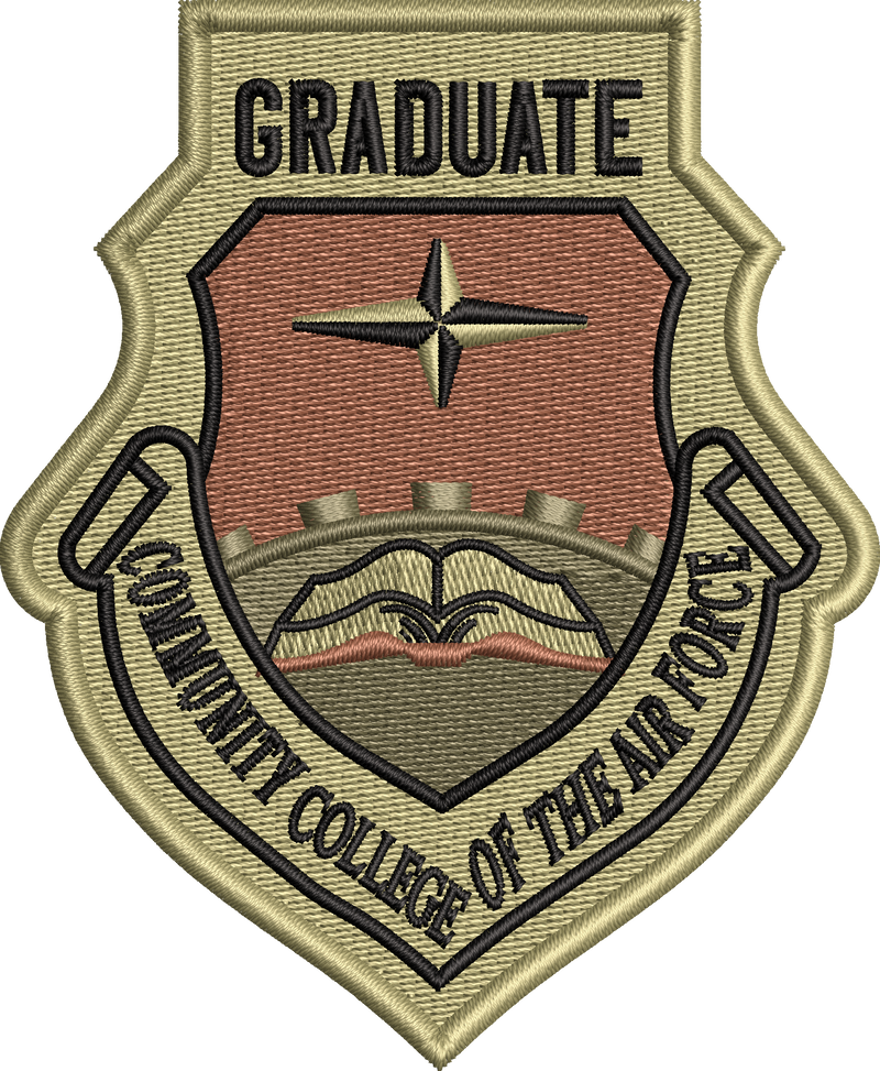 Community College of the Air Force  Graduate - OCP Patch