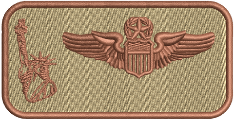 137th Liberty Nametag - Desert