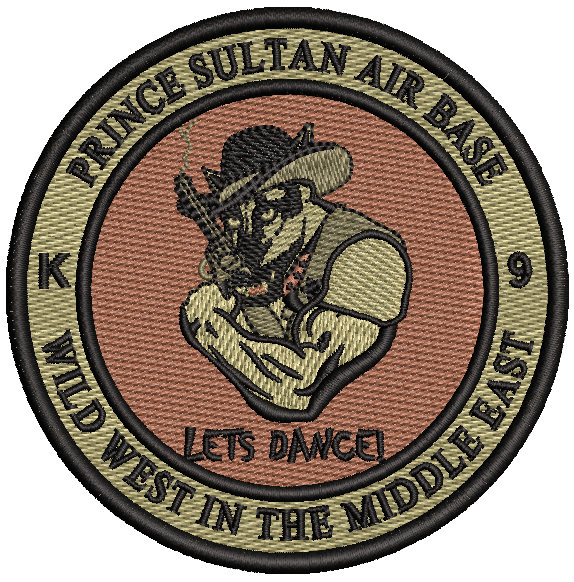"Prince Sultan Air Base K9 ""Wild West In the Middle East"""
