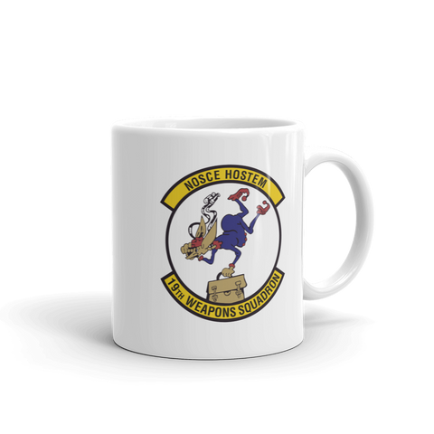 19th Weapons Squadron Coffee Mug - Reaper Patches