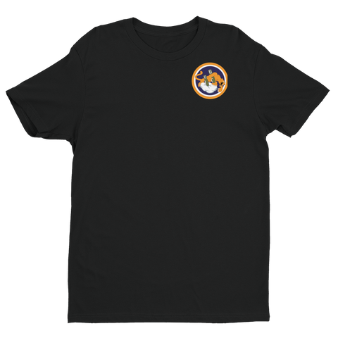 489 ATKS Standard  Short Sleeve T-shirt - Reaper Patches