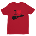 I Heart Hellfires Short Sleeve T-shirt - Reaper Patches