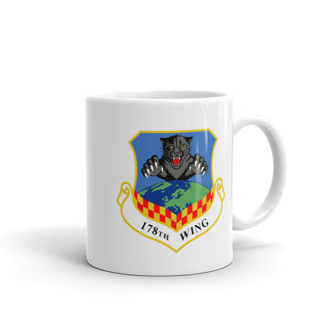 Ohio ANG Block O Coffee Mug ( 178th WG) - Reaper Patches
