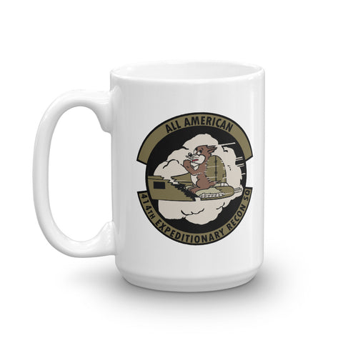 414th Expeditionary Recon SQ Coffee Mug - Reaper Patches