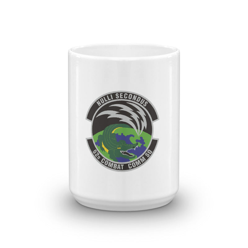 52d Combat Communication Squadron Coffee Mug - Reaper Patches