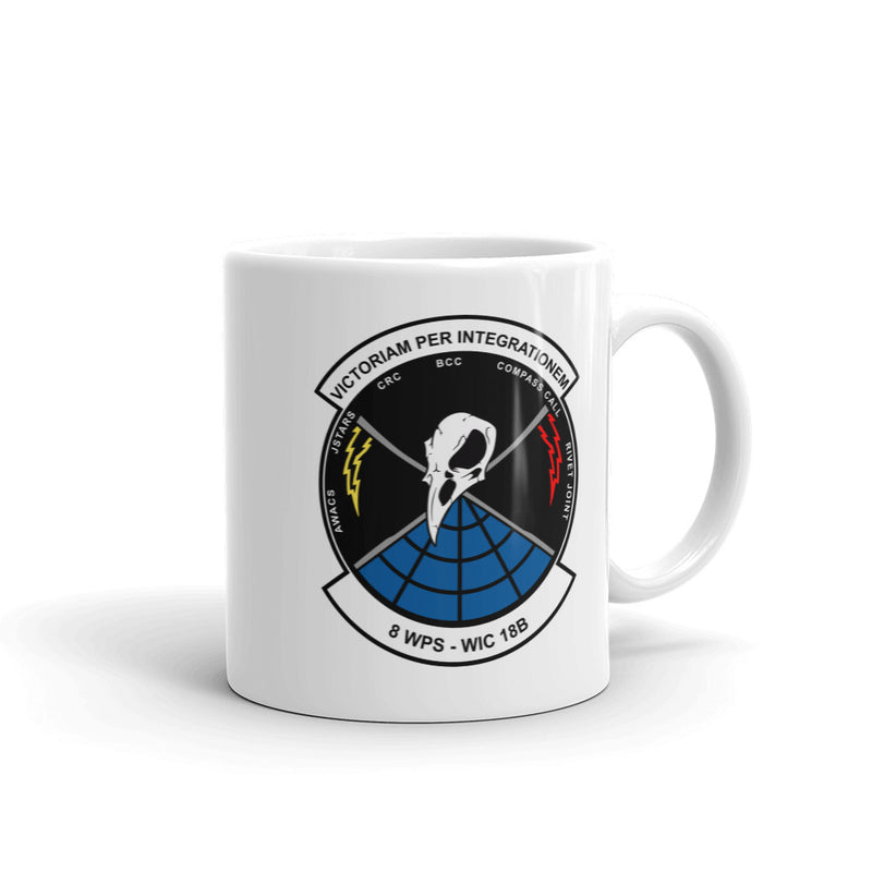 8 WPS WIC 18B Class Patch Coffee Mug - Reaper Patches