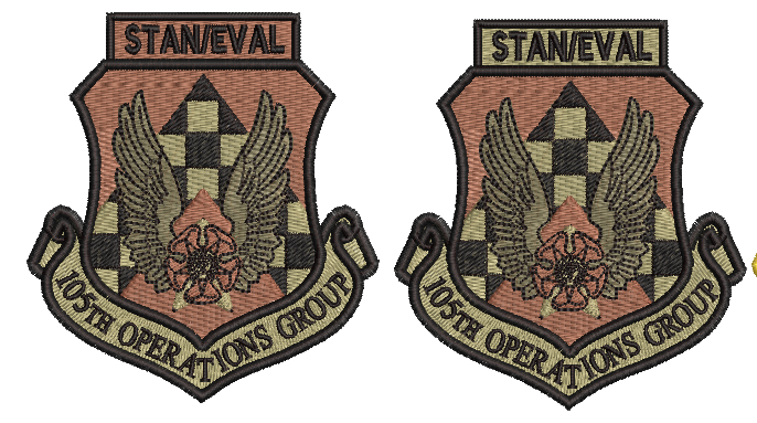105th Operations Group STAN/EVAL - Patch (unofficial) OCP