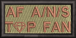 AIR FORCE AMN/NCO/SNCO TOP FAN- PEN TAB