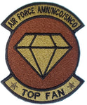 AIR FORCE AMN/NCO/SNCO TOP FAN- Patch
