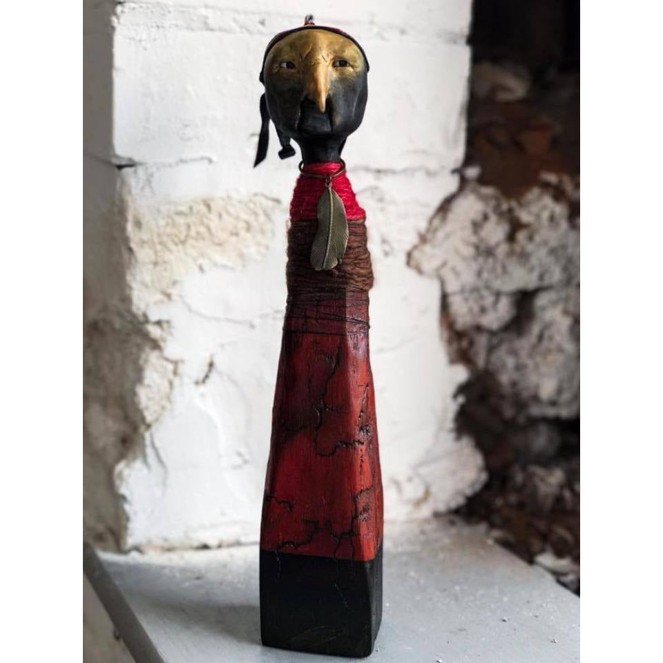 The Emperor: Original scultpure by Sonia Dalga - Egoiste Gallery