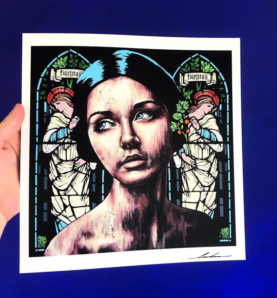 Loyalty by Lowdown - signed archival Giclée print - Egoiste Gallery - Art Gallery in Manchester City Centre