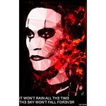 The Crow by Baiba Auria - signed art print with quote - Egoiste Gallery - Art Gallery in Manchester City Centre