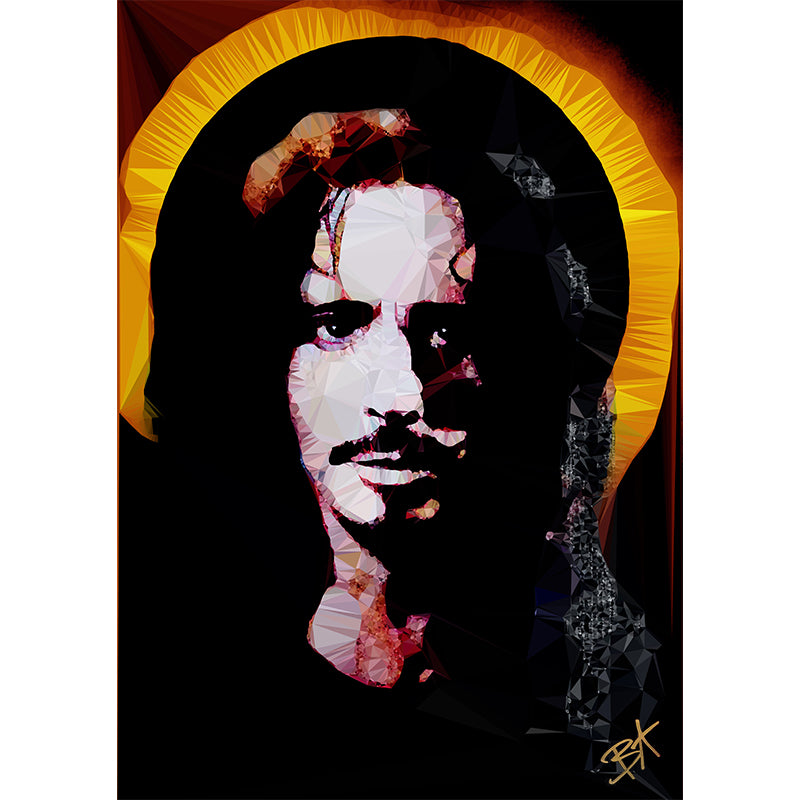 Chris Cornell (II) by Baiba Auria - signed archival Giclee print - Egoiste Gallery - Art Gallery in Manchester City Centre