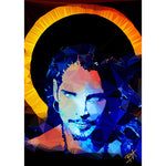 Chris Cornell (III) by Baiba Auria - signed archival Giclee print - Egoiste Gallery - Art Gallery in Manchester City Centre