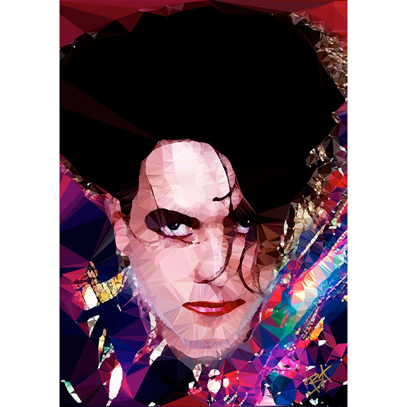 Robert Smith (II) by Baiba Auria - signed archival Giclee print - Egoiste Gallery - Art Gallery in Manchester City Centre