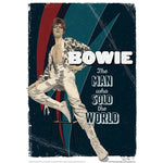 'The Man Who Sold the World' by Richard Miller - Signed Fine Art Print - Official David Bowie Art - Egoiste Gallery
