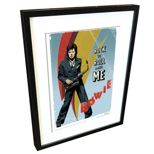 'Rock 'n' Roll' by Richard Miller - Signed Fine Art Print - Official David Bowie Art - Egoiste Gallery