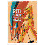 'Put On Your Red Shoes' by Richard Miller - Signed Fine Art Print - Official David Bowie Art - Egoiste Gallery