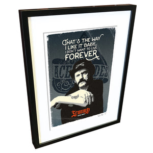 Lemmy by Richard Miller - Signed Fine Art Print - Egoiste Gallery