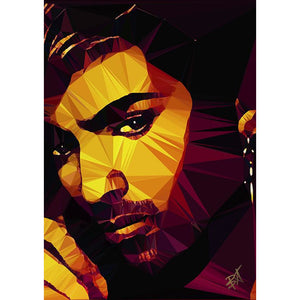 George Michael #1 by Baiba Auria - signed art print - Egoiste Gallery