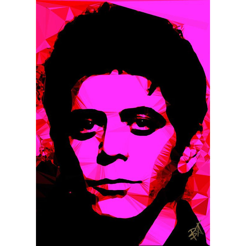 Lou Reed #2 by Baiba Auria - signed art print - Egoiste Gallery