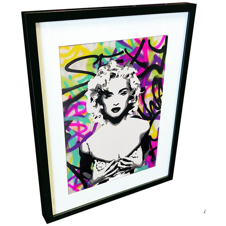 Madonna by Leaky - signed fine art print - Egoiste Gallery