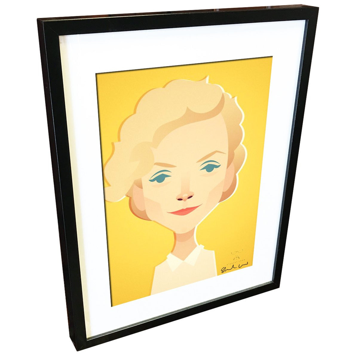 Maxine Peak by Stanley Chow - Signed and stamped fine art print - Egoiste Gallery