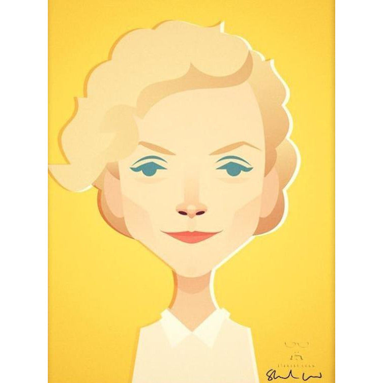 Maxine Peake by Stanley Chow - Signed and stamped fine art print - Egoiste Gallery