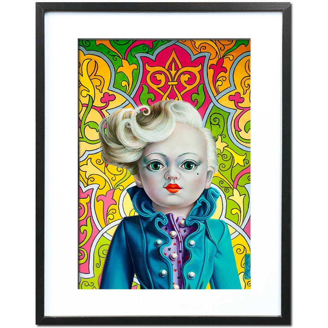 Mika, Ready by Liva Pakalne Fanelli - fine art print - Egoiste Gallery - Art Gallery in Manchester City Centre