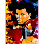 Muhammad Ali by Baiba Auria - signed art print - Egoiste Gallery - Art Gallery in Manchester City Centre
