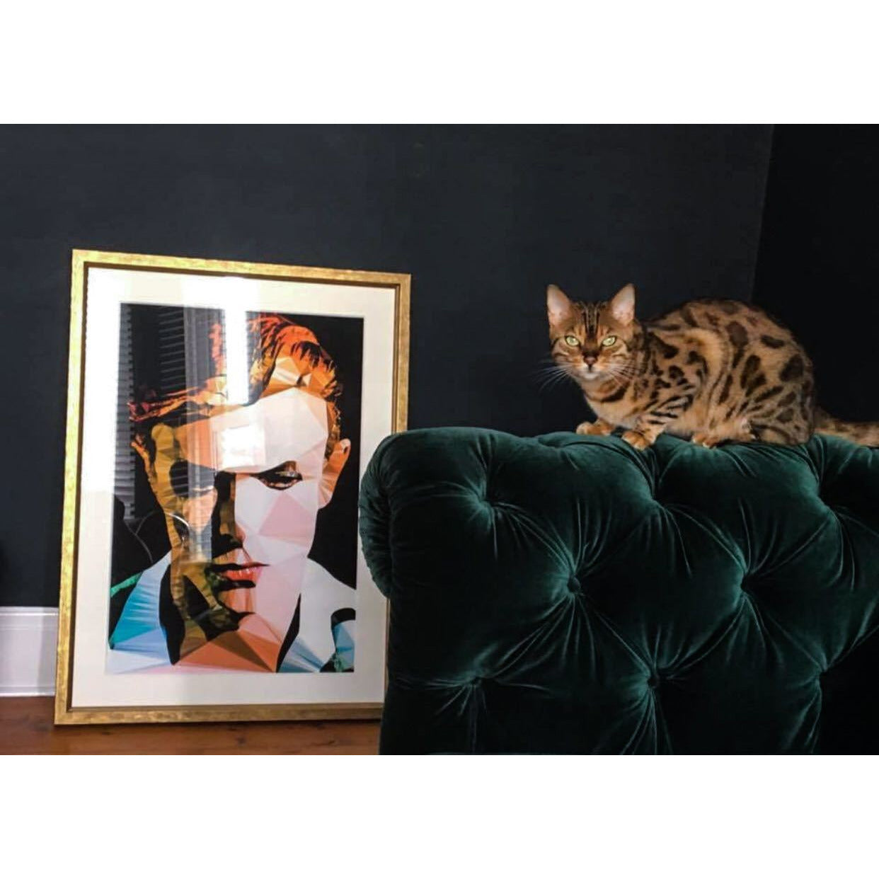 David Bowie by Baiba Auria - Limited Edition 24/500 signed art print - Egoiste Gallery