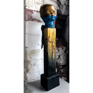 Lost Angel - Gold and Blue by Sonia Dalga - Egoiste Gallery