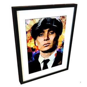 Thomas Shelby (I) by Baiba Auria - signed archival Giclee print (Peaky Blinders) - Egoiste Gallery - Art Gallery in Manchester City Centre
