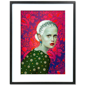 Veronica Thinks the Unthinkable by Liva Pakalne - fine art print - Egoiste Gallery