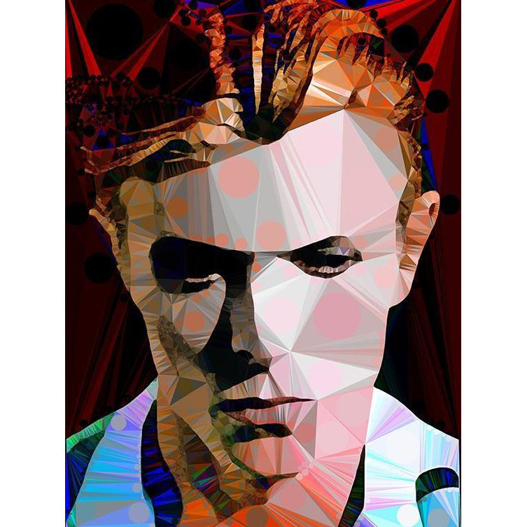 Bowie #3 by Baiba Auria - signed art print - Egoiste Gallery - Art Gallery in Manchester City Centre