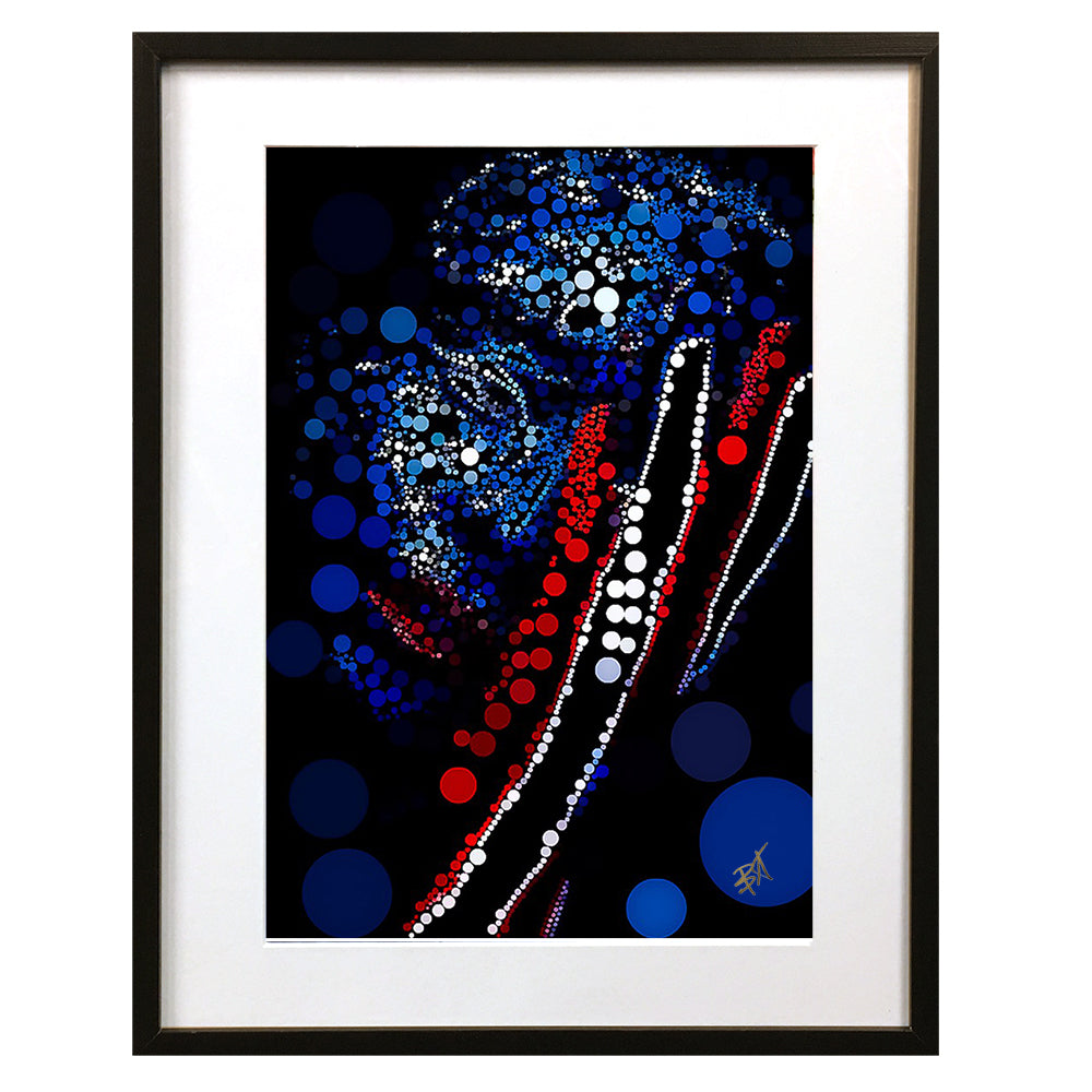 Headache by Baiba Auria - signed art print - Egoiste Gallery - Art Gallery in Manchester City Centre