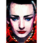 Boy George #1 by Baiba Auria - signed art print - Egoiste Gallery - Art Gallery in Manchester City Centre