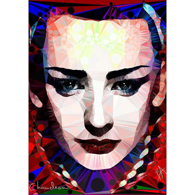 Boy George #2 by Baiba Auria - signed art print - Egoiste Gallery