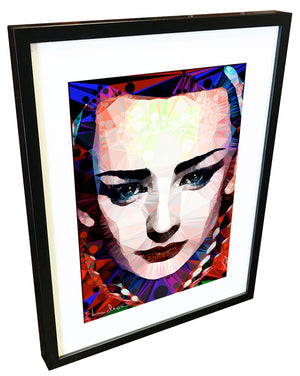 Boy George #2 by Baiba Auria - signed art print - Egoiste Gallery - Art Gallery in Manchester City Centre