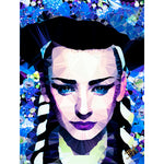 Boy George #3 by Baiba Auria - signed art print - Egoiste Gallery - Art Gallery in Manchester City Centre