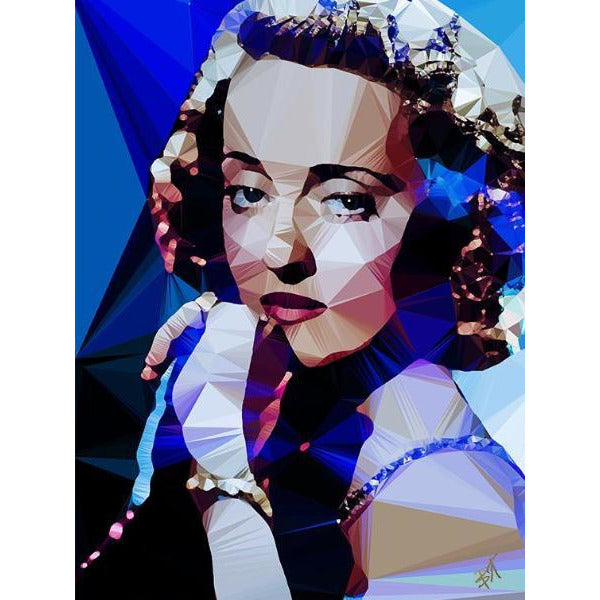 Bette Davis #1 - art print signed by Baiba Auria - Egoiste Gallery